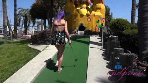 Lily Adams Mini Golf Part 1